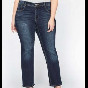 Love & Legend Bootcut Flare Jeans High Rise Y2K